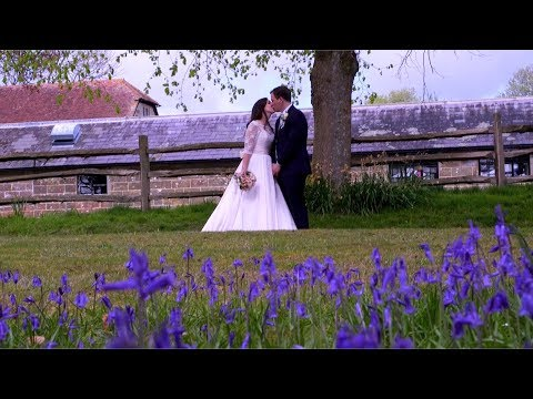 Hendall Manor Barns Wedding Film | Ellis & Harriet's Wedding Film | Sussex Wedding Videographers