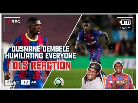 Download Americans First Reaction to Ousmane Dembele - Humiliating Everyone | DLS Edition