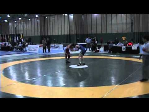 2009 Junior National Championships: 50 kg Steven Takahashi vs. John Pauluik