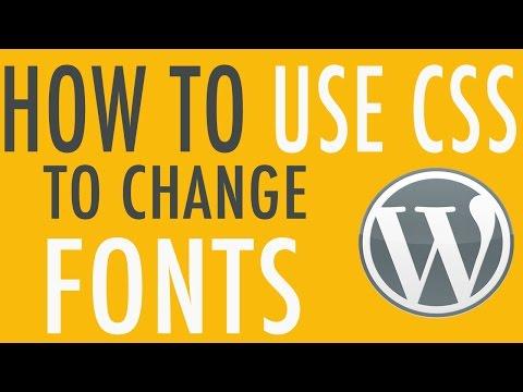 WordPress format text