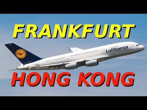 Lufthansa   LH796   Airbus A380-800   Frankfurt - Hong Kong   Economy Class   FRA - HKG
