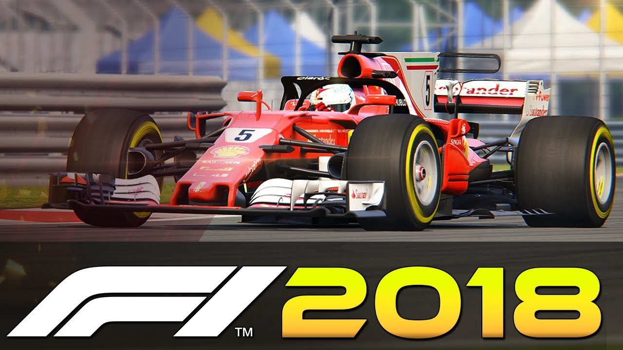 F1 2018 Halo Cars - Driving F1 2018 In Game Halo Mod (F1 Gameplay) - YouTube