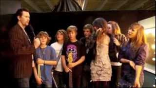 Lorde at age 12 (2009) with her school band + interview at 7:58