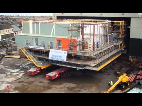 Heerema Fabrication Group: Projects in the Offshore Wind Industry