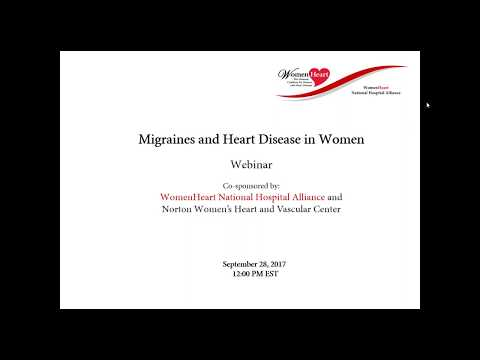 Migraines and Heart Disease in Women