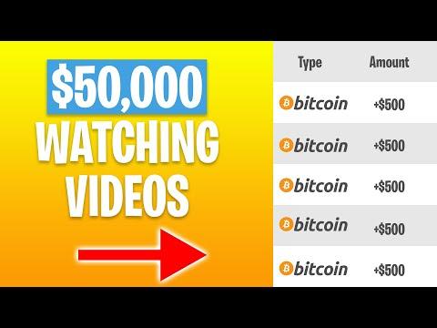 Get $50,000 In Free Bitcoin Watching Videos! (Get 1 BTC Per Week)