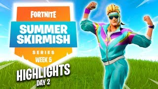 Fortnite Summer Skirmish Series Highlights (Week 5) Day 2 thumbnail