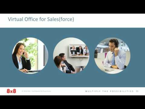 Boost sales productivity with 8x8 and Salesforce