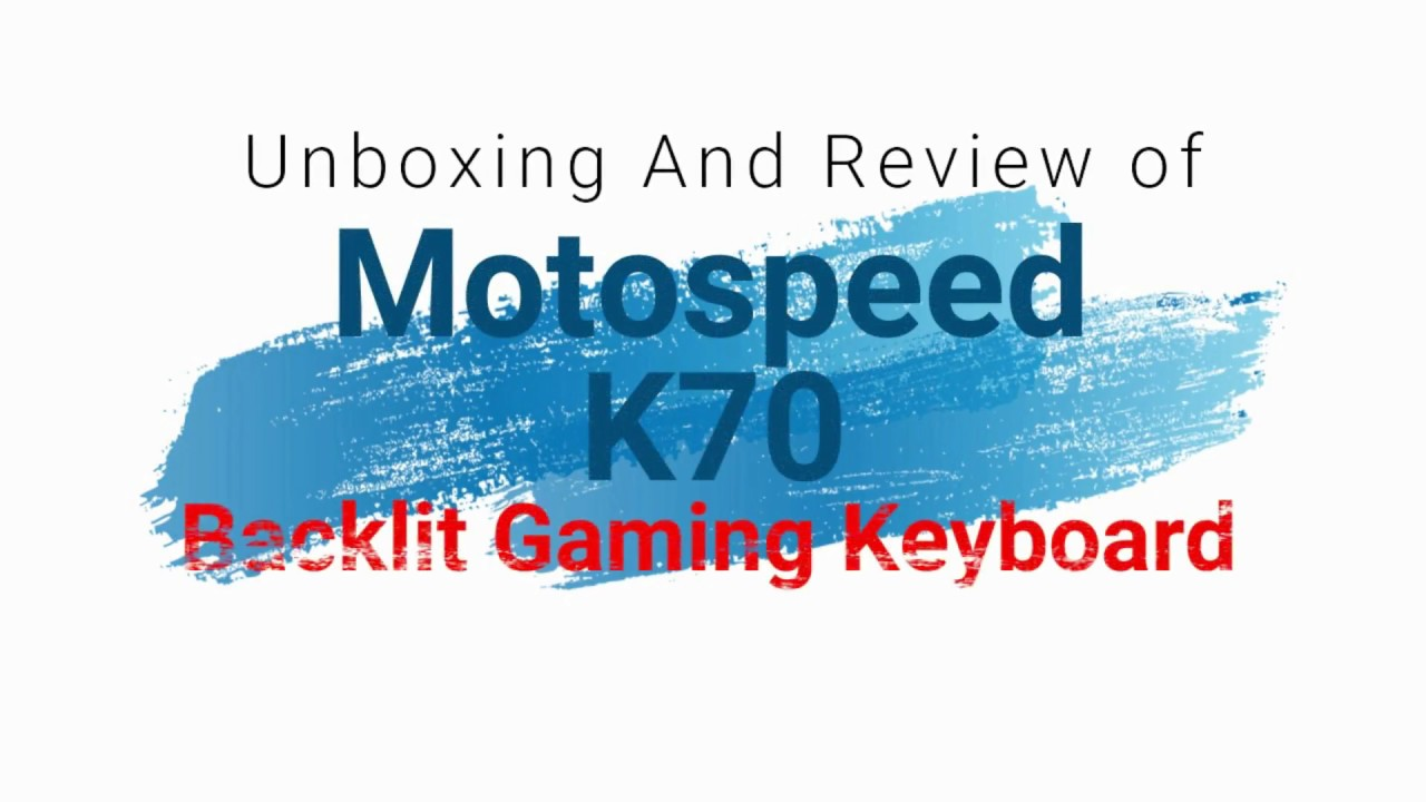 Motospeed K70 LAZADA