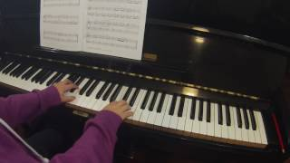 Minuetto op 37 no 2 by James Hook RCM piano prep B Celebration Series 2015