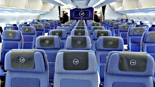 LUFTHANSA`S NEW ECONOMY CLASS TRIP REPORT   Airbus A350-900XWB   Munich - Hamburg - Munich   ✈