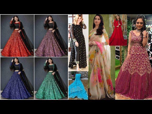 Designer Lehenga Choli / Saree / Salwar Kameez / Gowns Collections / Online Shopping review #ethnic