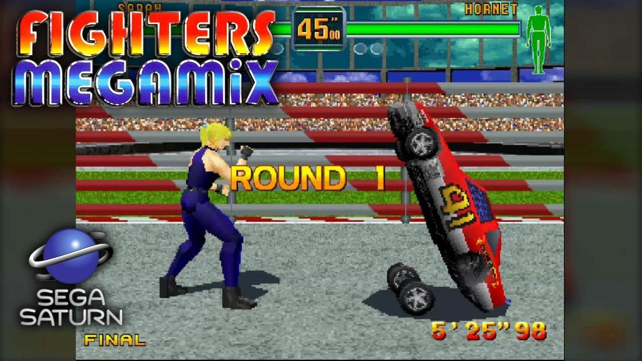 Fighters MegaMix - Sarah (Goal I - SECRETS) SSF Emulator
