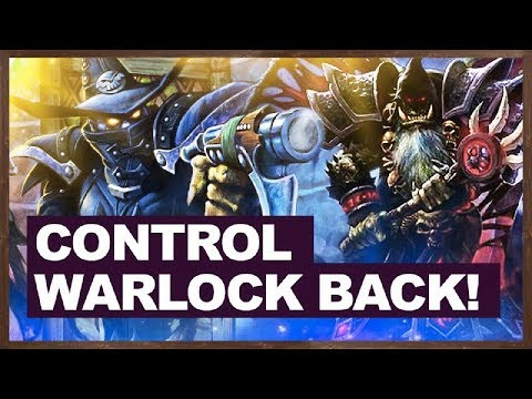 Control Warlock Back! | The Witchwood Hearthstone