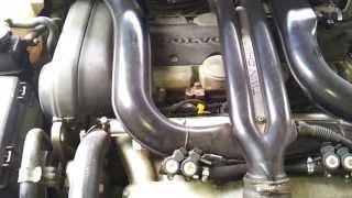 видео Как установить накладку на передний бампер Вольво S60