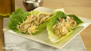 Citrus Chicken Lettuce Cups With Artichoke - From The Test Kitchen