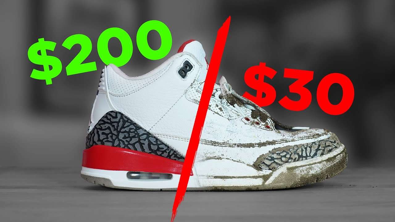 How To Clean Sneakers to RESELL