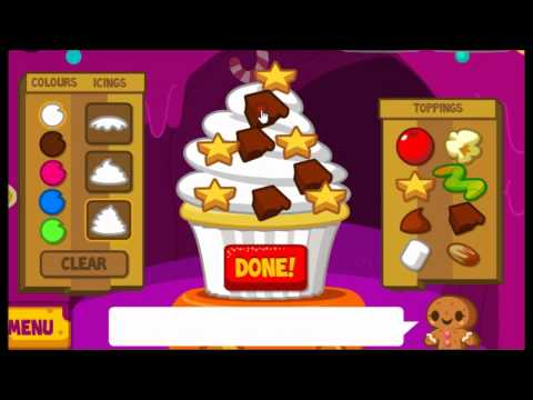 Moshi Monsters Cupcake game Jeepers, Dipsy, McNulty
