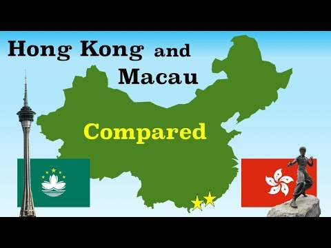Hong Kong and Macau Compared