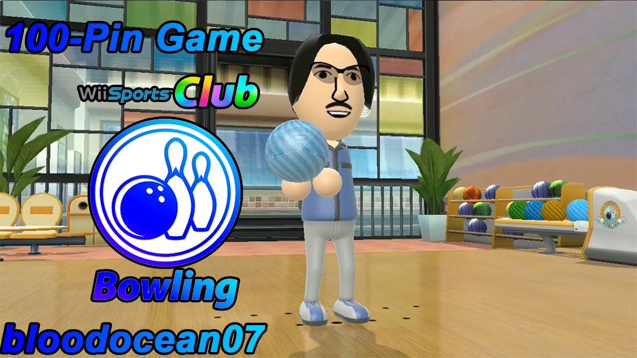 5 Pin Bowling Youtube Taste Bud Tongue Diagram Papillae Wii Sports Club - 100-pin Game