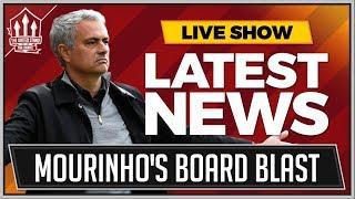 MOURINHO Blames MAN UNITED Board For Ruining Squad Moral! MAN UTD News