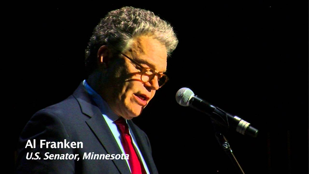 Franken tweaks Ryan, Cruz and Dayton