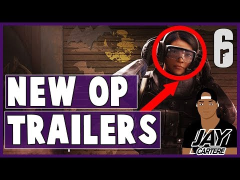 Rainbow 6 Siege ALL Blood Orchid DLC Operators Trailers - Lesion, Ying, Ela + Reaction