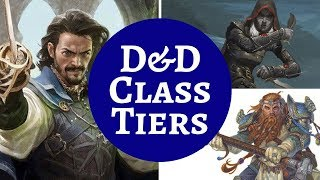 D&D CLASSES RANKING