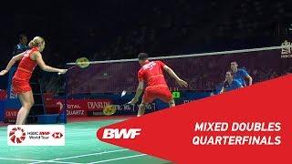 QF | XD | C. ADCOCK/G. ADCOCK (ENG) vs. TAN/LAI (MAS) | BWF 2019