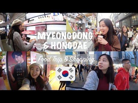 KOREA Vlog #2: MYEONGDONG & HONGDAE: Food Trip, Lotte Mart & Shopping in Seoul! ❤️🇰🇷 | Raych Ramos