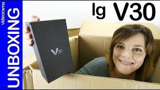 LG V30 unboxing -¿demasiado TARDE para un móvil de película?-