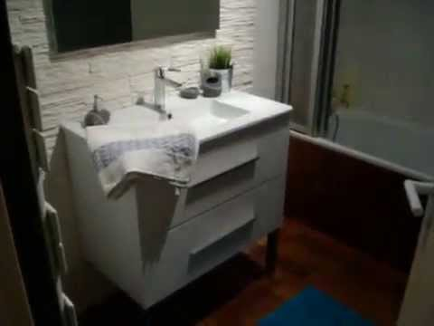 refaire sa salle de bain youtube. Black Bedroom Furniture Sets. Home Design Ideas