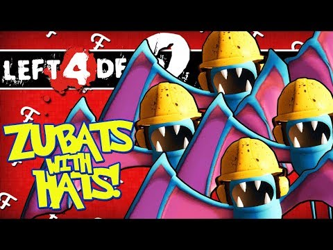 L4D2: Zubats With Hats Apocalypse! (Left 4 Dead 2 Pokemon Zombies  - Comedy Gaming)