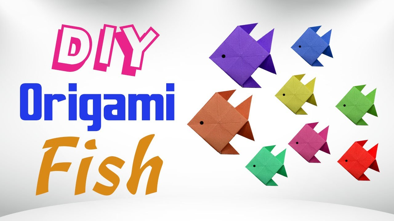 Cute Easy Origami Fish