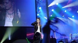 l arc en ciel world tour 2012 live in paris 40 min fancam