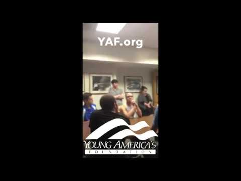 Insane Video: SJW's Shouting Down YAF Meeting at Kansas University
