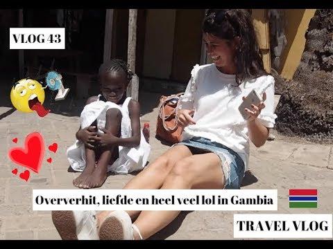 OVERVERHIT, LIEFDE EN LOL IN GAMBIA - WEEKVLOG 43
