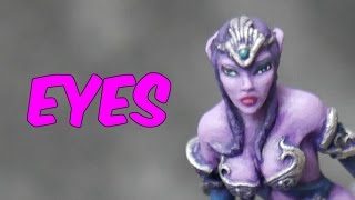 How to Paint Miniatures - Eyes