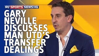 Gary Neville discusses Man Utd