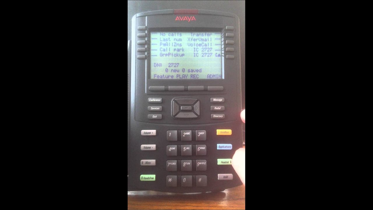 avaya voice mail setup youtube rh youtube com Avaya Desk Phone IP Volume Avaya 1140E IP Deskphone