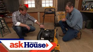 How To Adjust A Lawn Mower's Cutting Height - This Old House