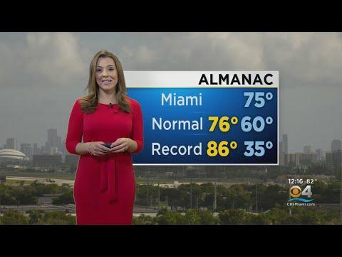 CBSMiami.com Weather 1/3 12PM