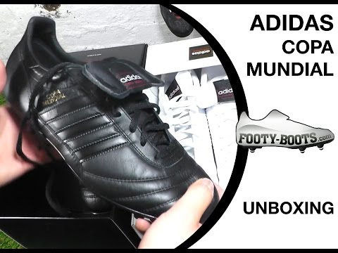 adidas Copa Mundial Black & White Pack Edition Unboxing | Footy-Boots.com