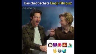 [VOSTFR] Emoji Film Quiz - Dylan O'Brien & Thomas Brodie-Sangster ~ Maze Runner The Death Cure