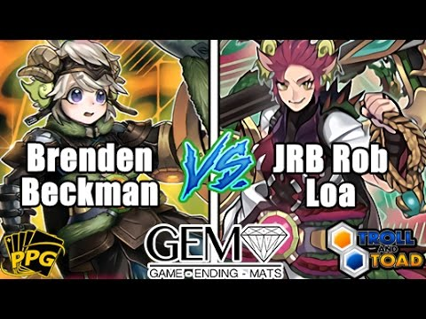 AMAZING BEST MATCH 2k17 - JRB Rob Loa Vs GHOST Brenden Beckman (60 Cards) Zodiac Round 5