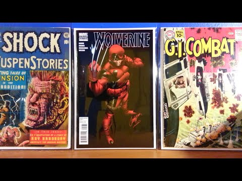 COMIC BOOK HAUL! BACK WITH SOME COOL BOOKS, PLUS A SUPER RARE KEY ISSUE FOR THE VAULT!
