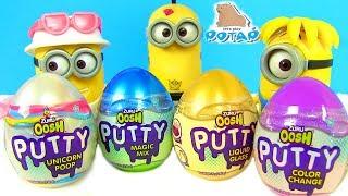 Лизун от Единорога! Яйца с Сюрпризом для Миньонов Slime Surprise Eggs Лизун как Мяч