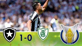Melhores Momentos - Botafogo 1 x 0 América-MG - Campeonato Brasileiro (16/09/2018)