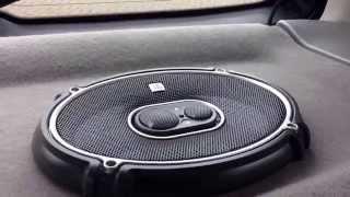 JBL GTO 938 speakers.