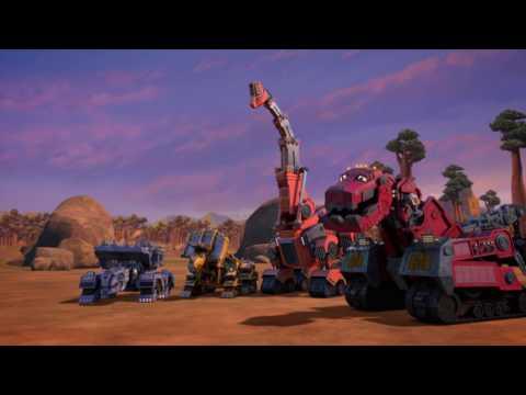TRT Çocuk - Dinozor Makineler / Her Gün 19.45'te